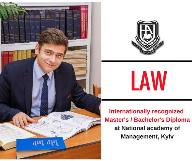 Bachelor's degree in law